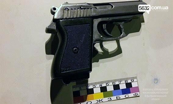 Полицейские Павлограда обнаружили у водителя мопеда пистолет, фото-3
