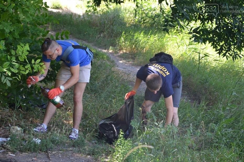 У Павлограді активісти під час прибирання зеленої зони натрапили на «притулок» наркоманів, фото-1
