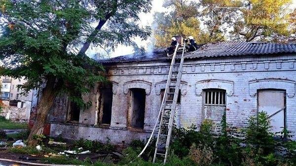 В центре Павлограда загорелся дом бывшего мэра , фото-1