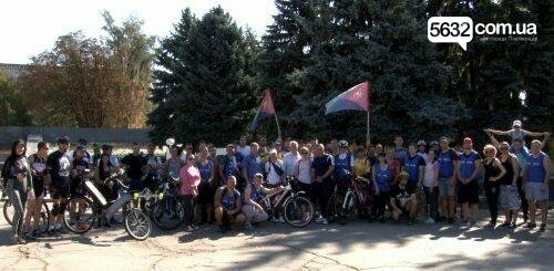Мэр Павлограда проехался по городу на оригинальном велосипеде, фото-4