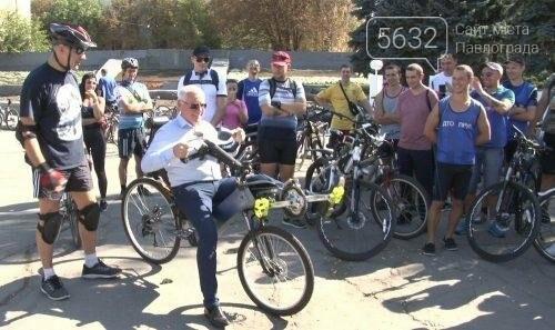 Мэр Павлограда проехался по городу на оригинальном велосипеде, фото-2