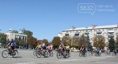 Мэр Павлограда проехался по городу на оригинальном велосипеде, фото-6