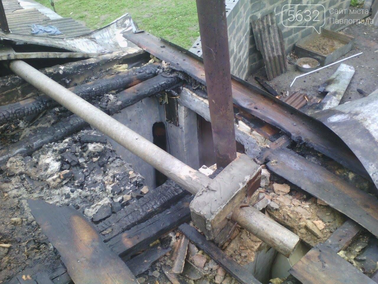 У Павлограді ледь не згорів приватний будинок, фото-1