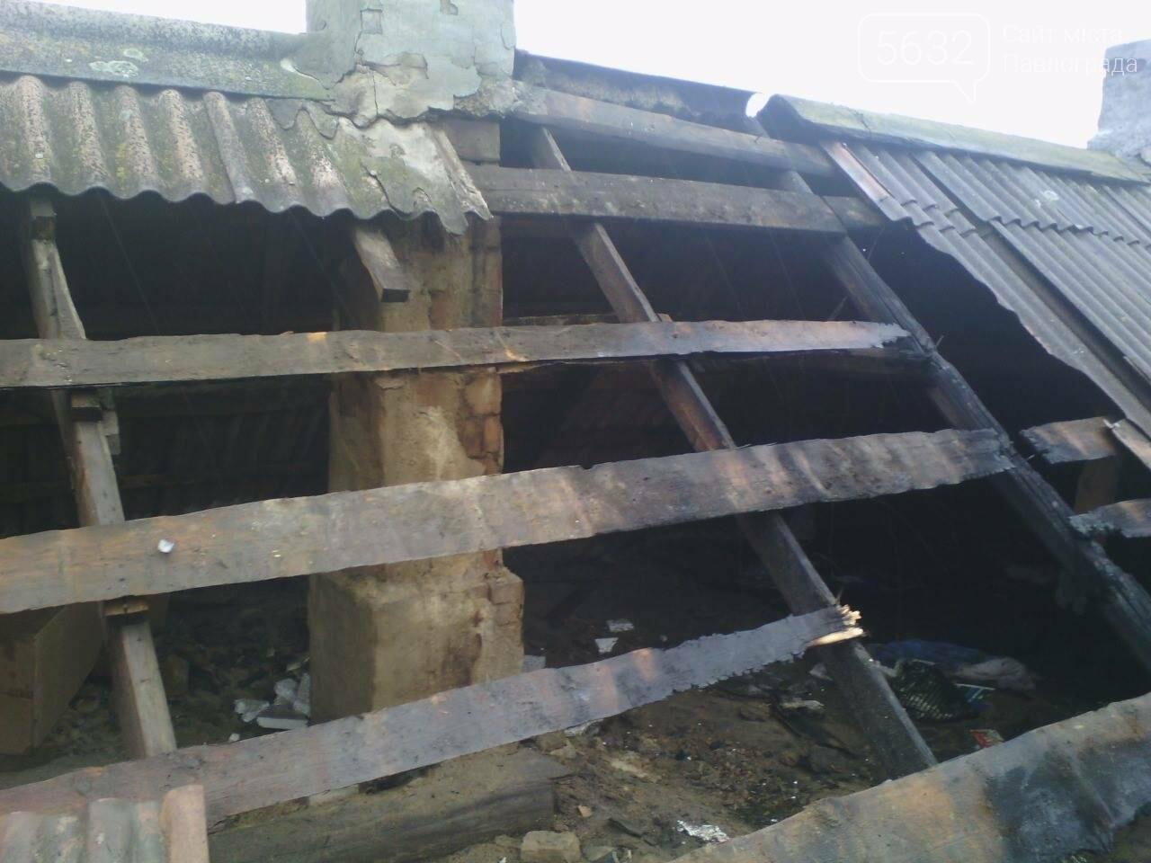 У Павлограді ледь не згорів приватний будинок, фото-2