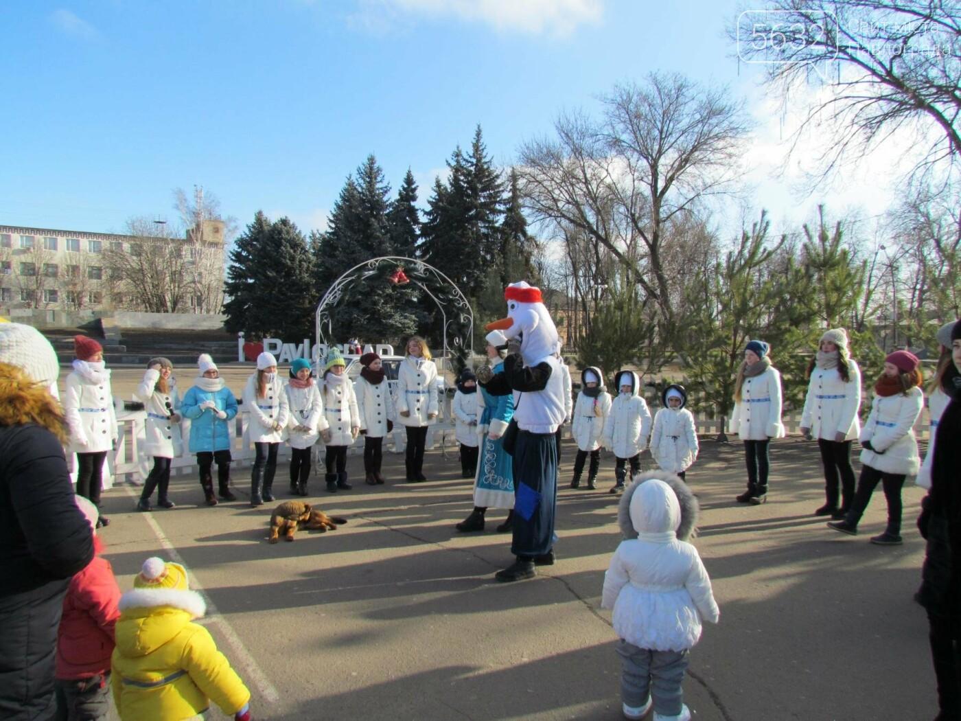 Павлоградцы попрощались с новогодней елкой, фото-5