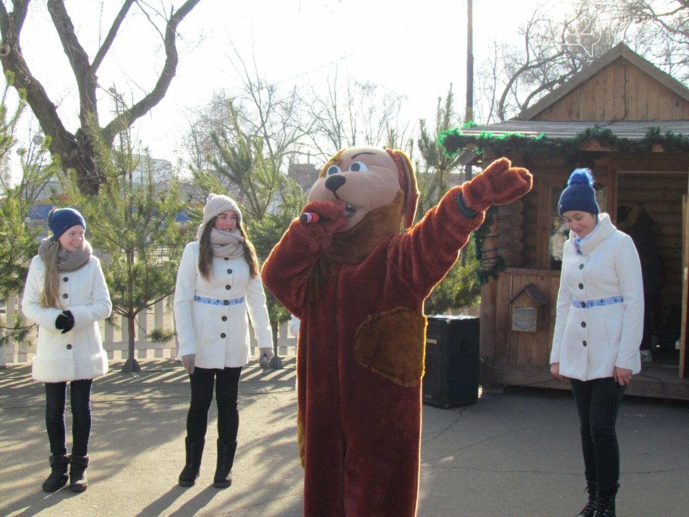 Павлоградцы попрощались с новогодней елкой, фото-3
