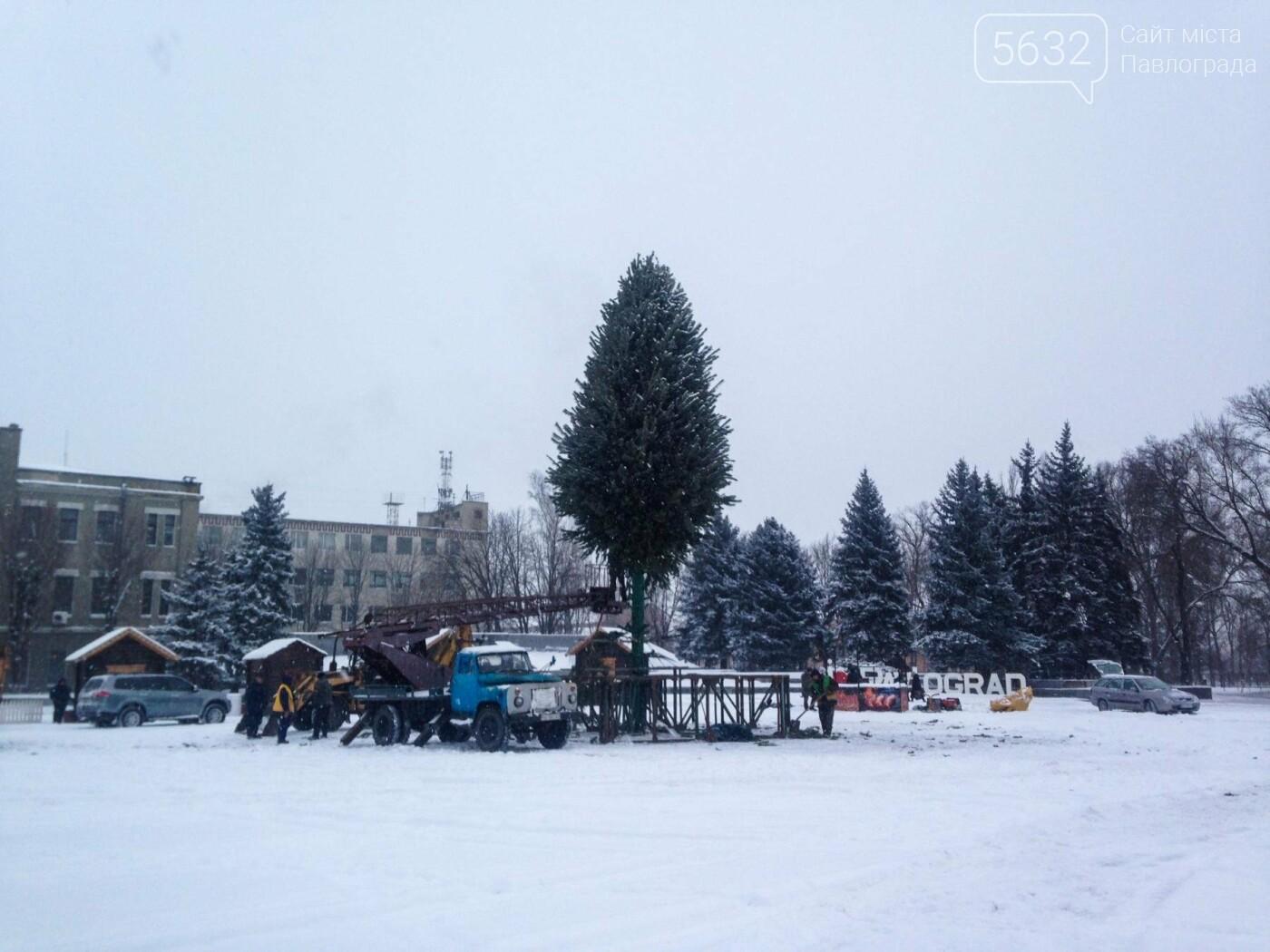 Свята закінчилися: у Павлограді розбирають ялинку, фото-5