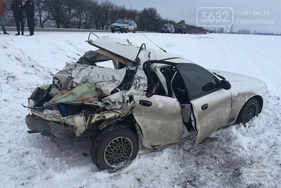 На трассе Павлоград-Донецк произошло ДТП: пострадали 3-летнй ребенок и беременная женщина, фото-1