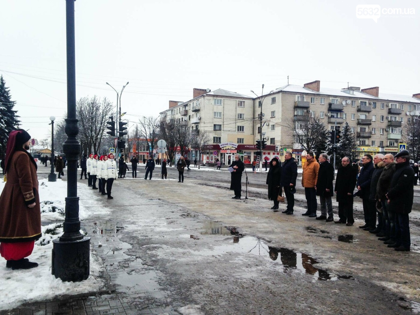 Павлоградцы начали праздновать День Соборности Украины, фото-5