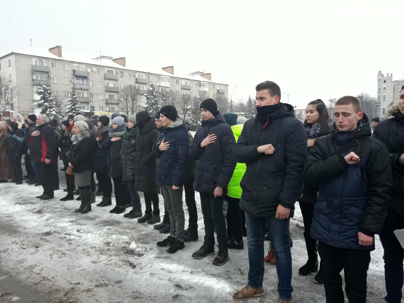 Павлоградцы почтили память героев Крут, фото-2