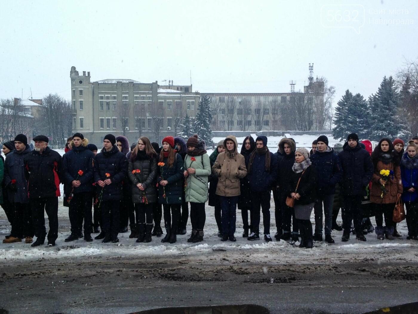 Павлоградцы почтили память героев Крут, фото-8