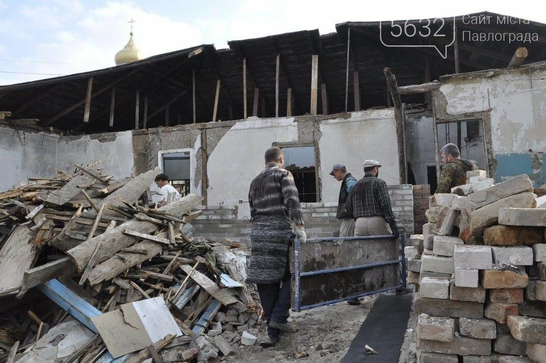В Павлограде завершился первый этап реконструкции здания Духовно-исторического центра, фото-1
