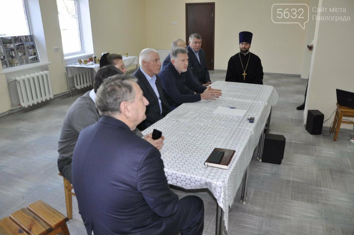 В Павлограде завершился первый этап реконструкции здания Духовно-исторического центра, фото-7