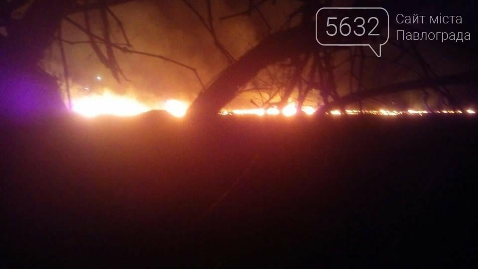 У Павлограді стартував сезон спалювання сухостою, фото-1