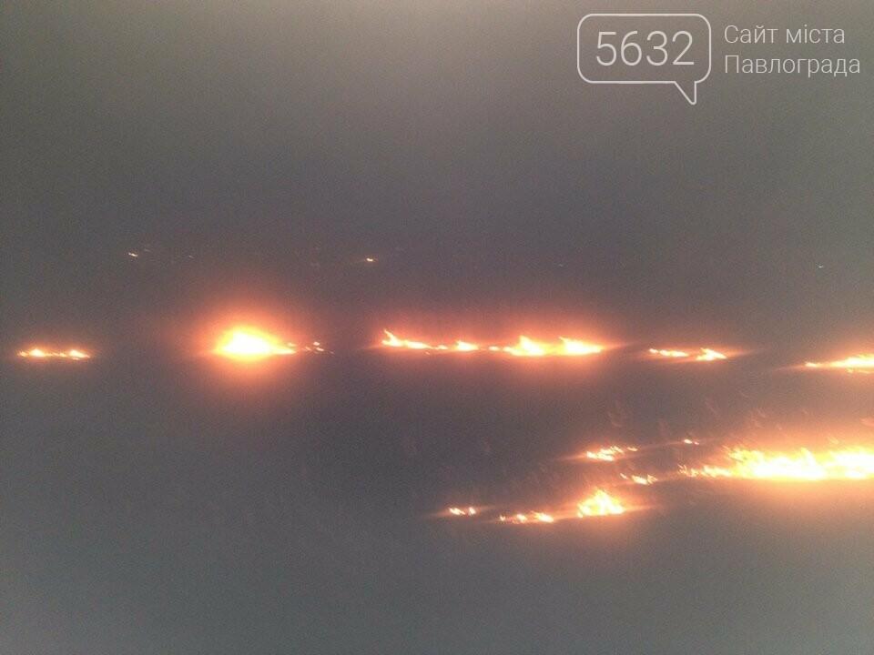 У Павлограді стартував сезон спалювання сухостою, фото-3