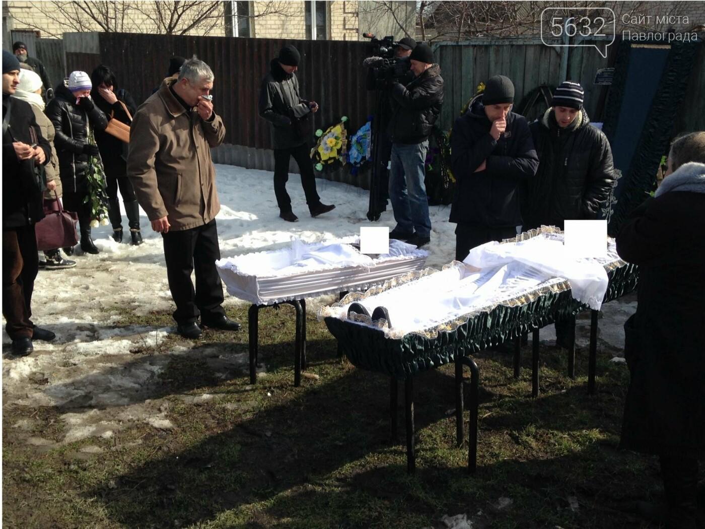 В Павлограде похоронили жестоко убитых отца и сына, фото-12
