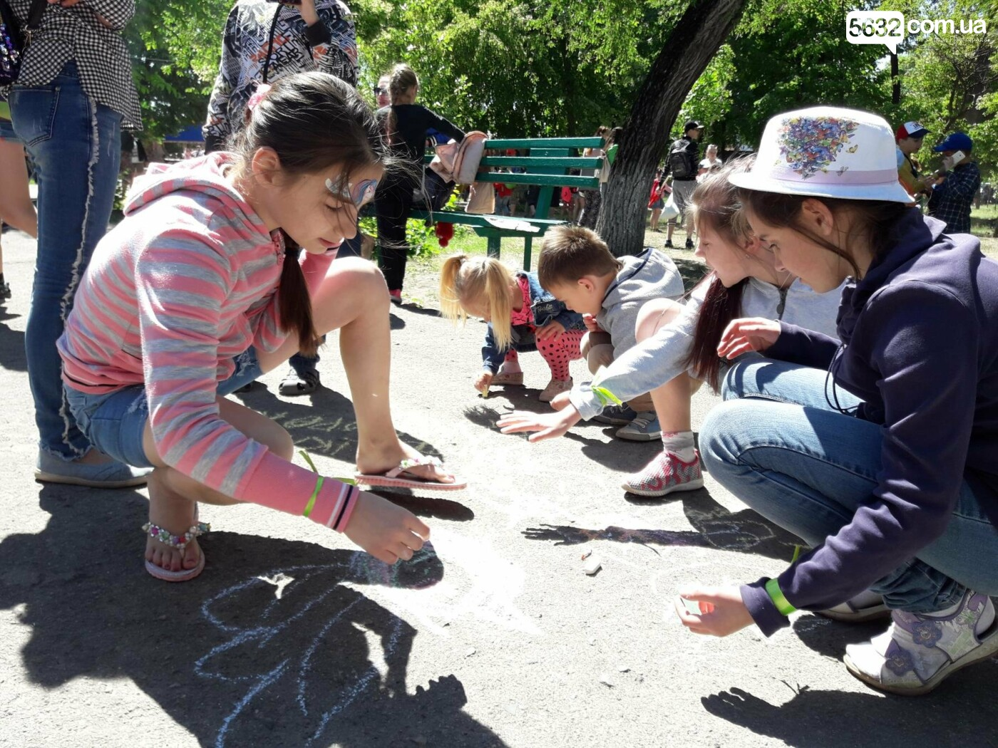 Павлоградцы отмечают Международный день защиты детей , фото-2