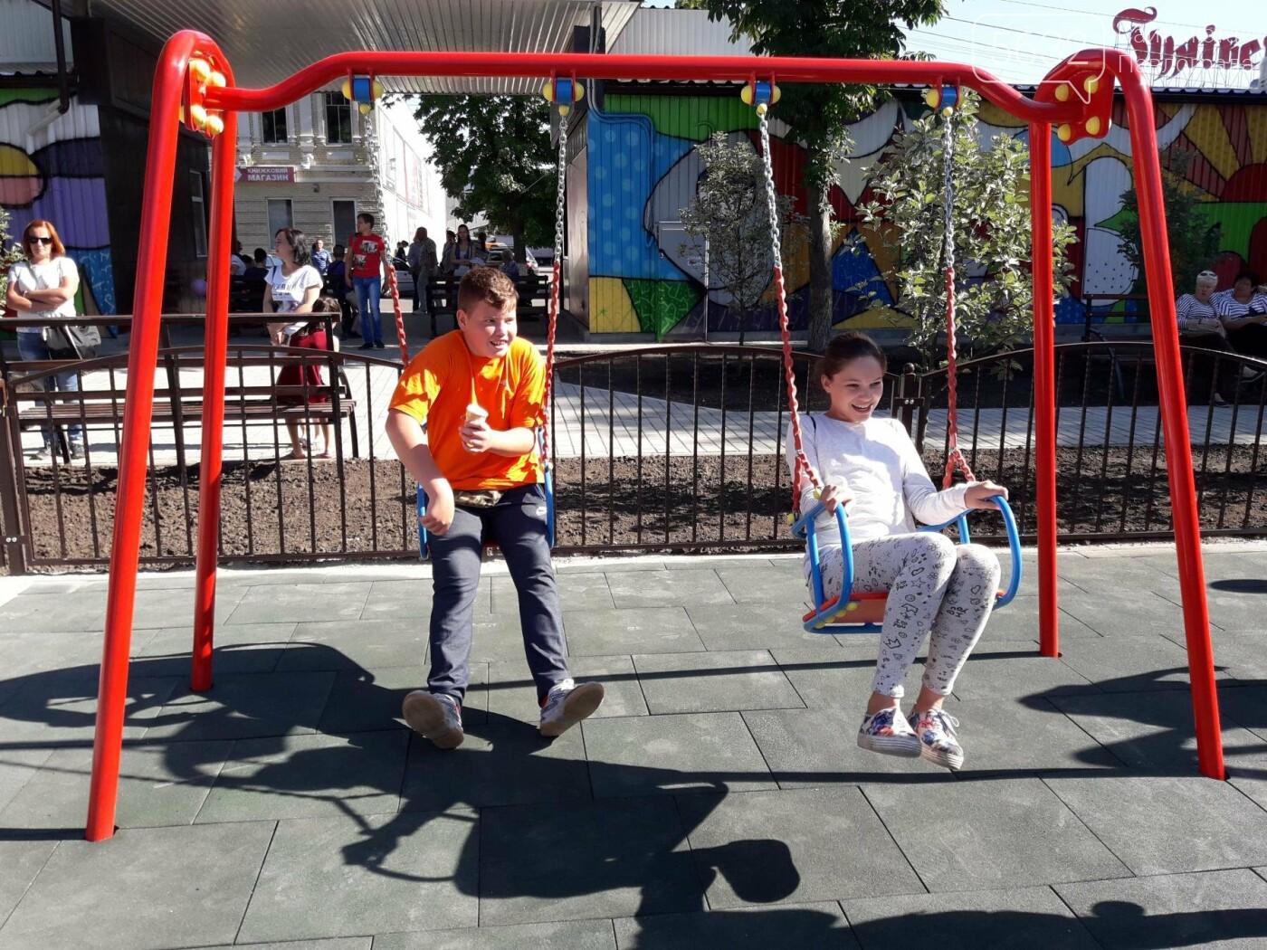 В Павлограде после реконструкции открыли Детский парк, фото-5
