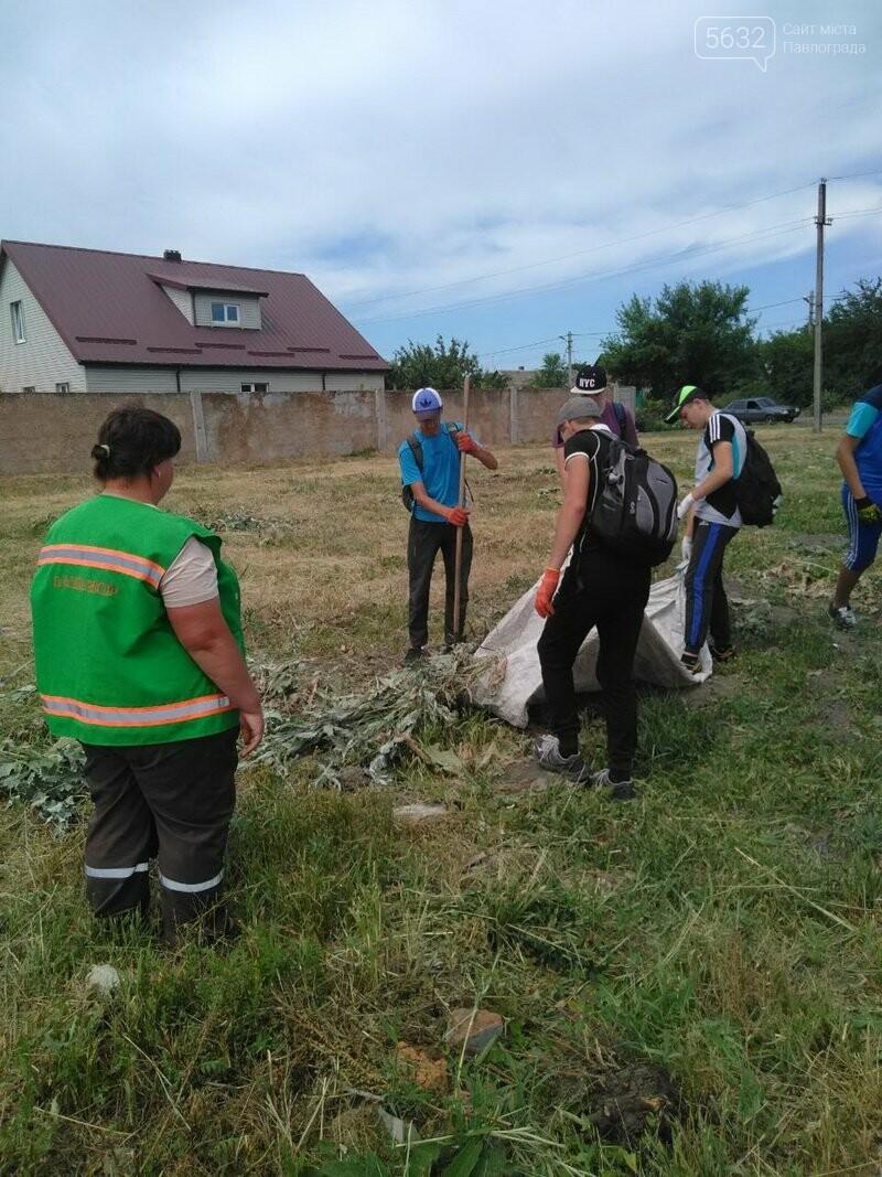 Павлоградские школьники высадили деревья возле памятного знака ромам , фото-1