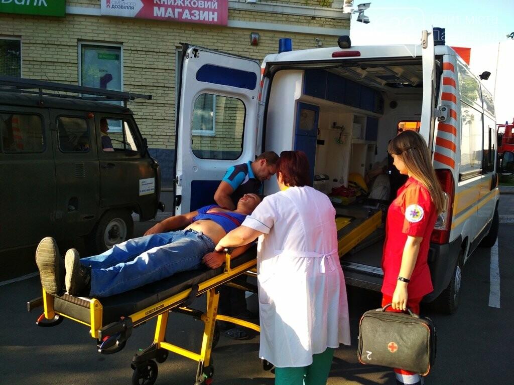 В торгово-развлекательный центр Павлограда нагрянули спасатели, фото-1