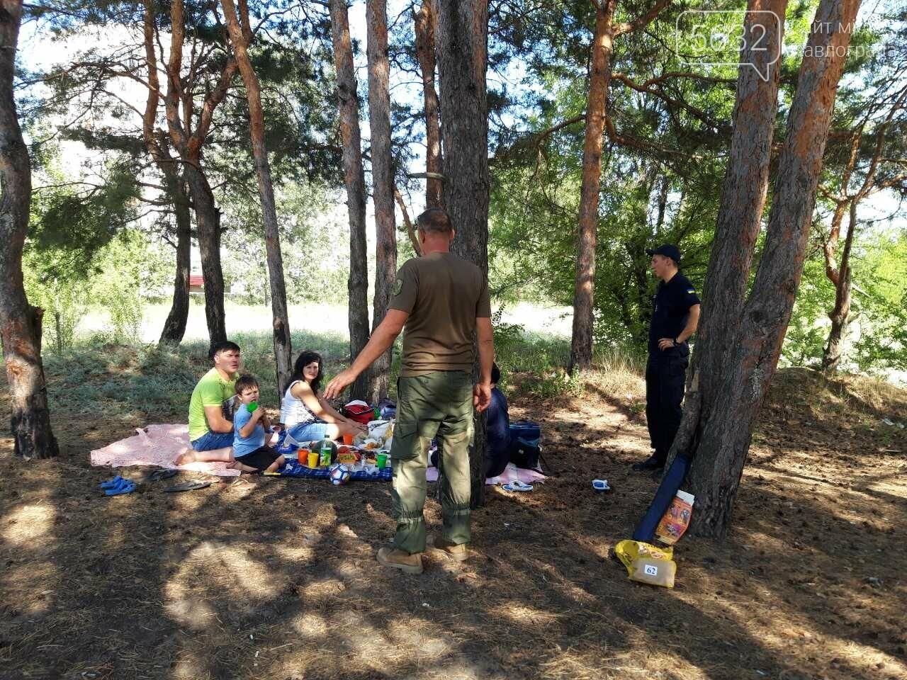 Рятувальники Павлограда провели рейд у лісі, фото-1