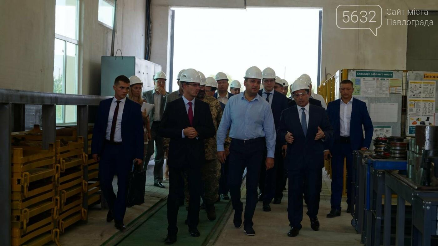 Владимир Гройсман посетил шахту им. Героев космоса, фото-3