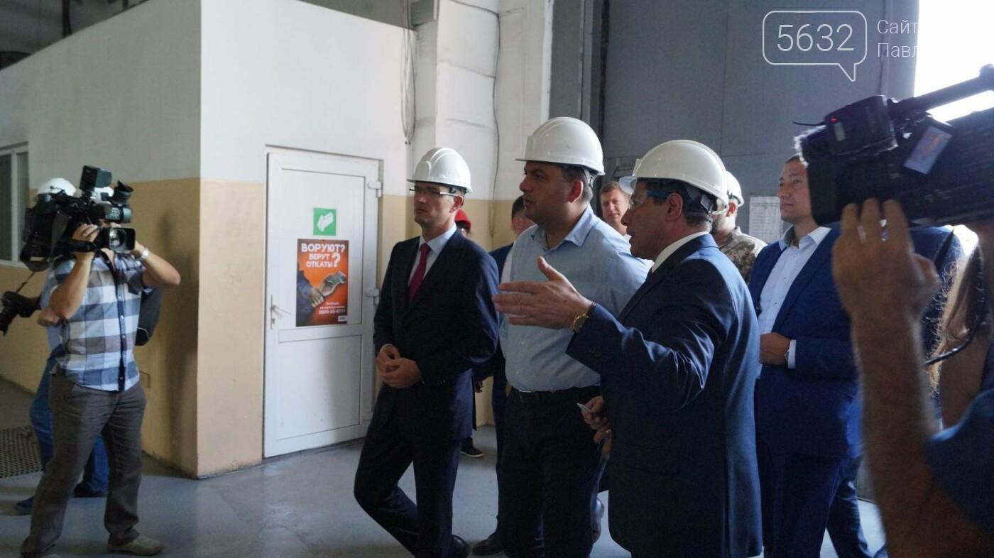 Владимир Гройсман посетил шахту им. Героев космоса, фото-10