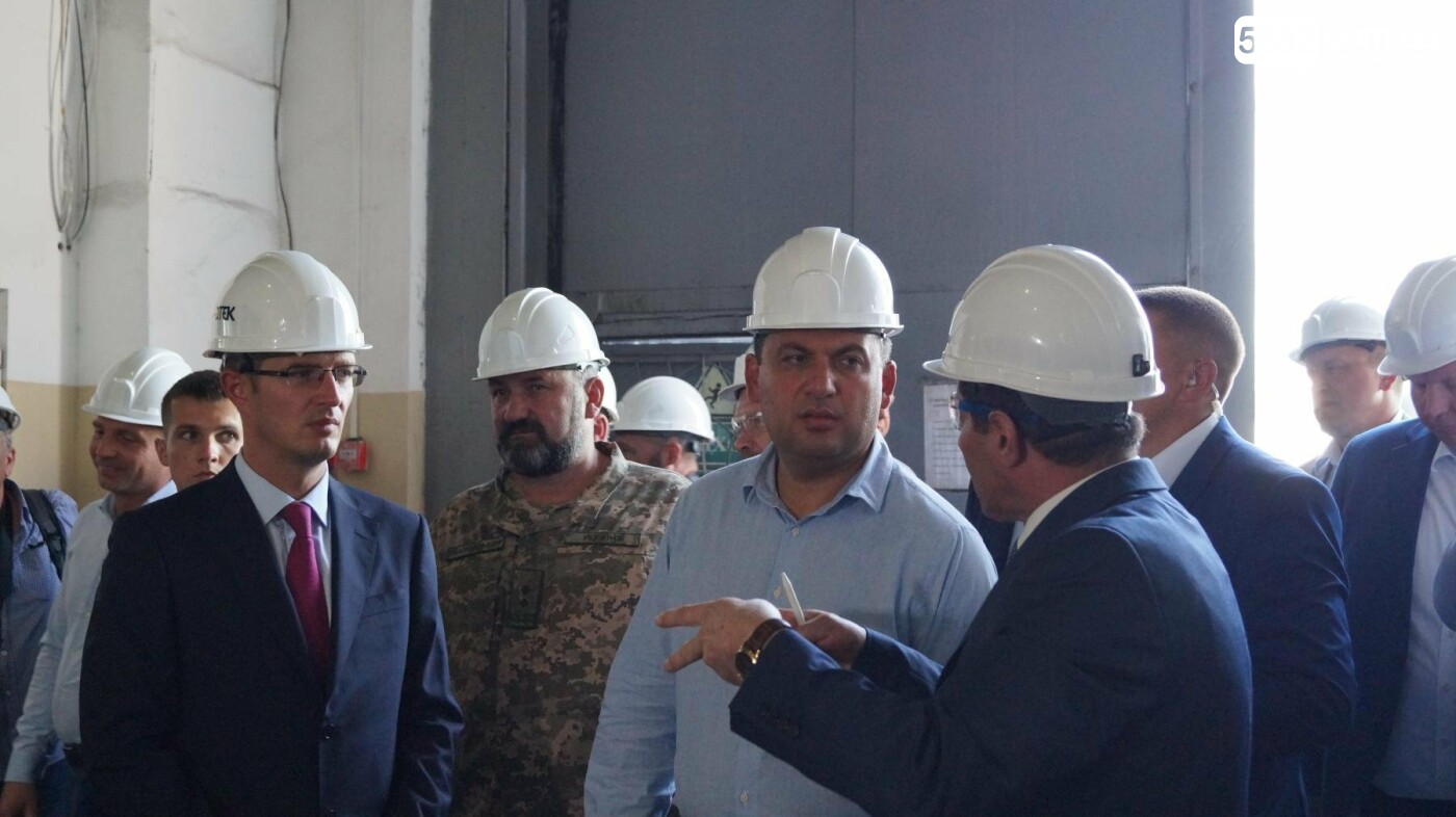 Владимир Гройсман посетил шахту им. Героев космоса, фото-6