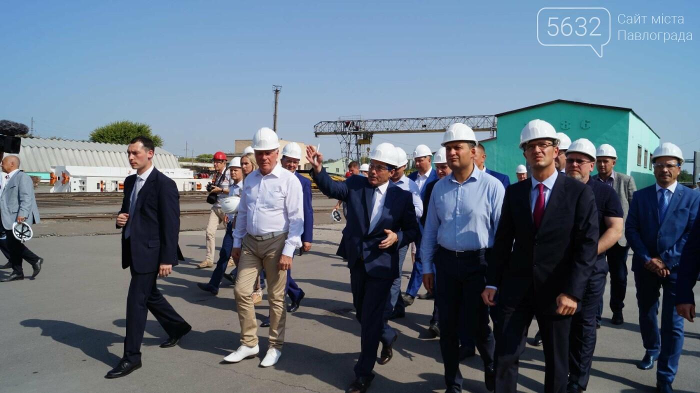 Владимир Гройсман посетил шахту им. Героев космоса, фото-7