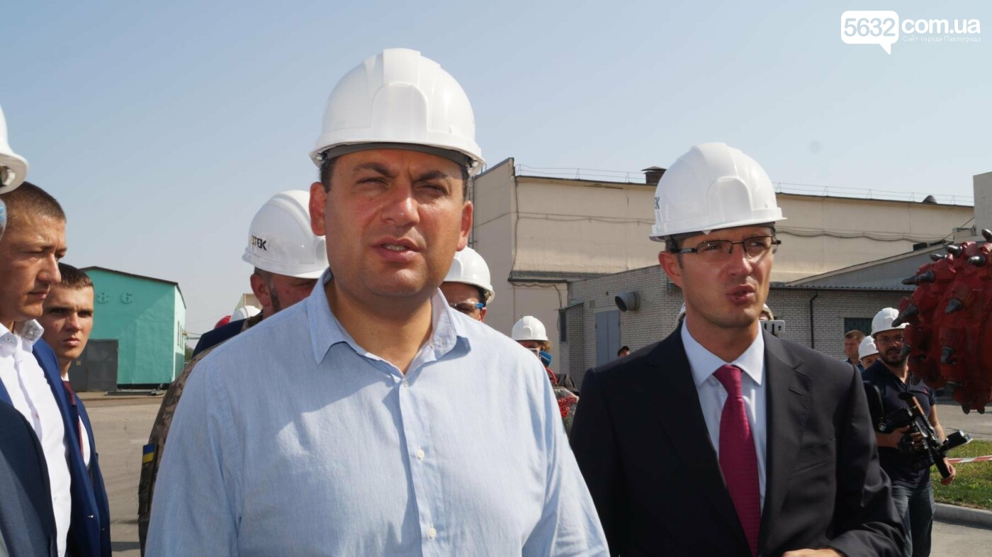 Владимир Гройсман посетил шахту им. Героев космоса, фото-2