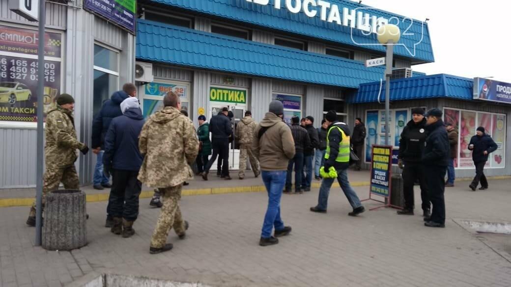 Павлоградські атовці мітингували проти свавілля перевізників, фото-1