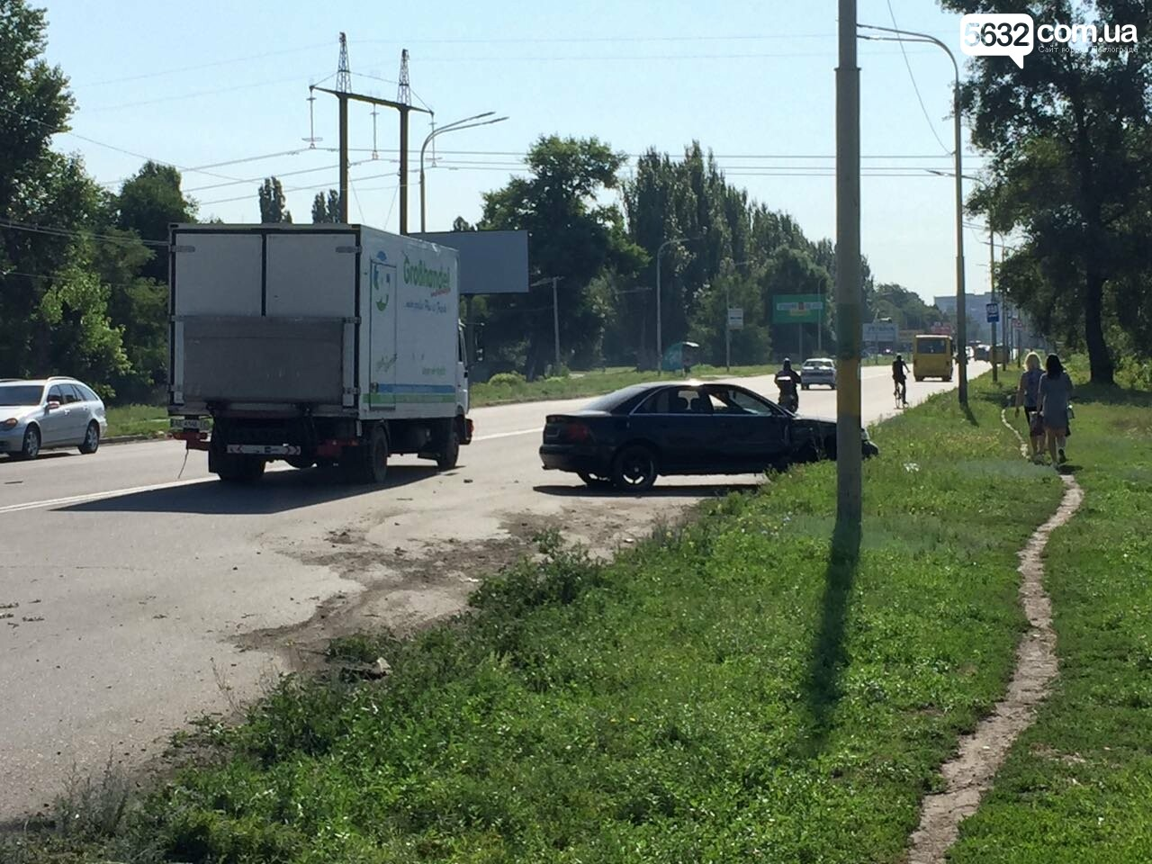 В Павлограде произошло ещё одно ДТП (ФОТО), фото-1