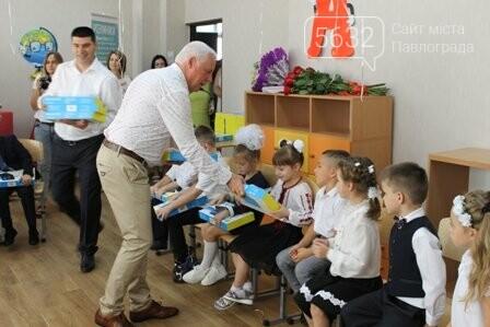 У павлоградській школі №1 відкрився суперсучасний кабінет початкової школи, фото-1