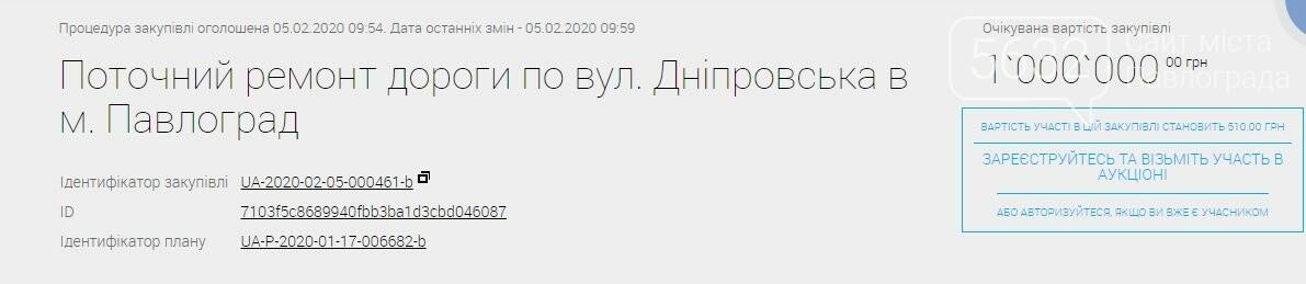 В Павлограде на ремонт улицы Днепровской готовы потратить 1 млн гривен, фото-1