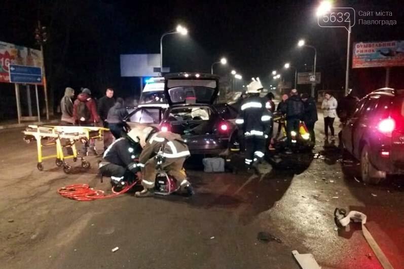 В результате ДТП в Павлограде 1 человек погиб, 5 пострадали (ФОТО), фото-1