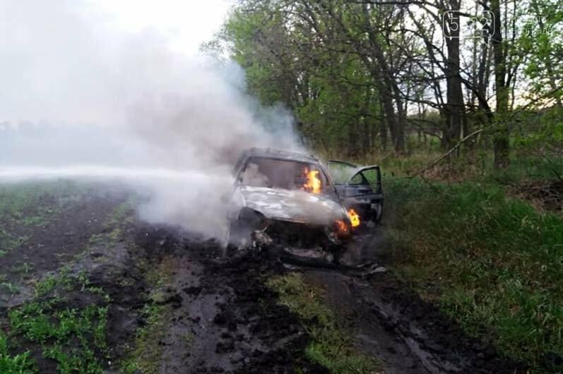Недалеко от Булаховки на ходу загорелся легковой автомобиль (ФОТО), фото-2