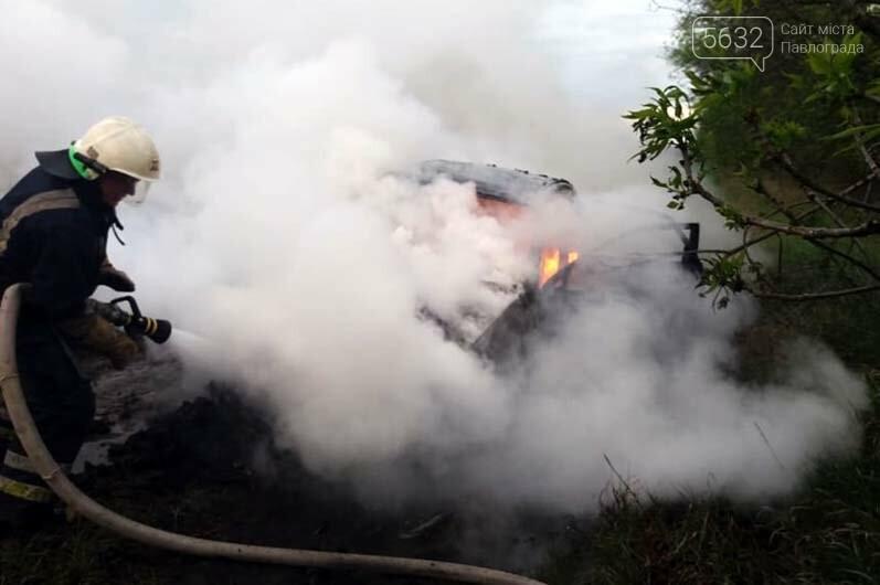 Недалеко от Булаховки на ходу загорелся легковой автомобиль (ФОТО), фото-3