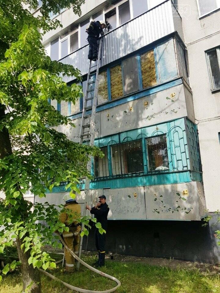 В Павлограде горела квартира в пятиэтажке, фото-1
