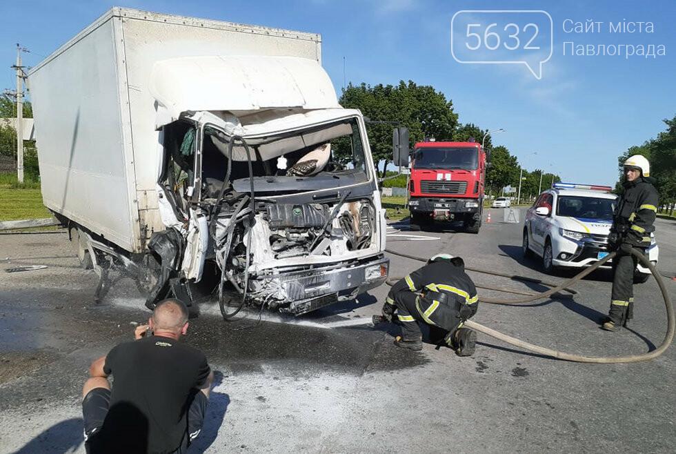 Спасатели Павлограда освободили пассажира из повреждённой кабины автомобиля (ФОТО, ВИДЕО), фото-4