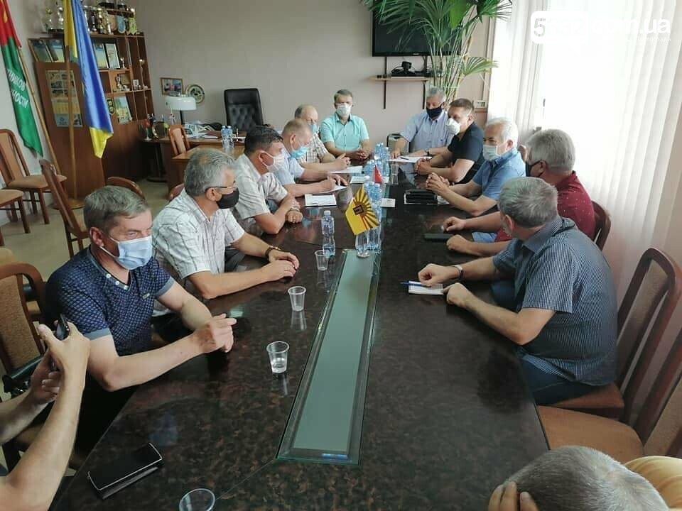 В Павлограде обсуждали вопрос проведения Всеукраинского похода горняков на Киев, фото-1