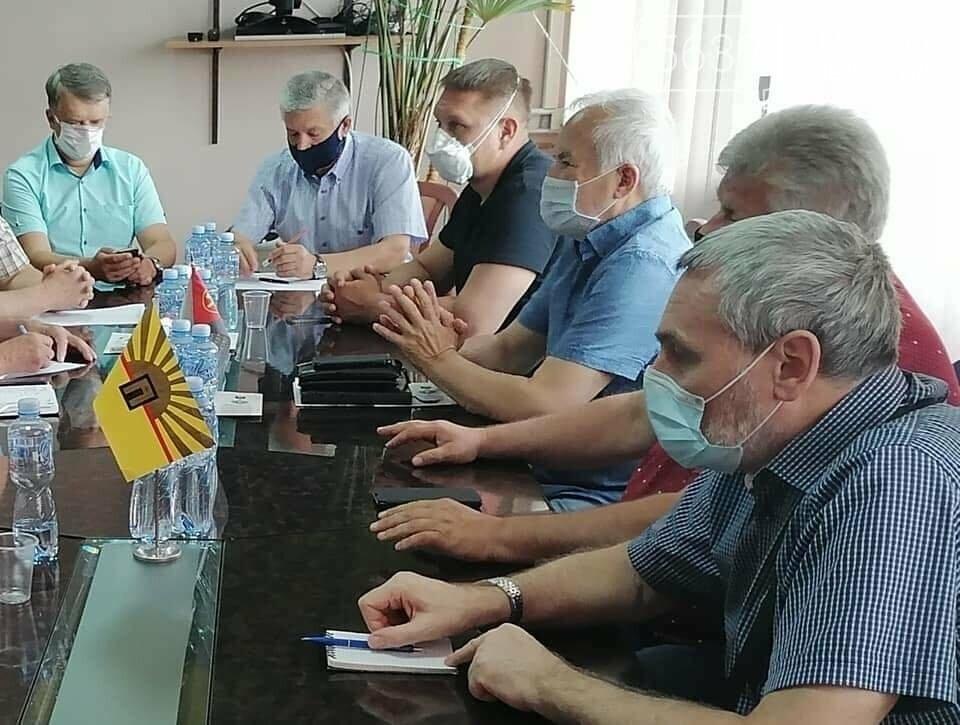 В Павлограде обсуждали вопрос проведения Всеукраинского похода горняков на Киев, фото-2