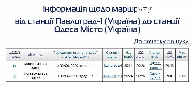 С сегодняшнего дня павлоградцы смогут уехать в Одессу на прямом поезде, фото-1