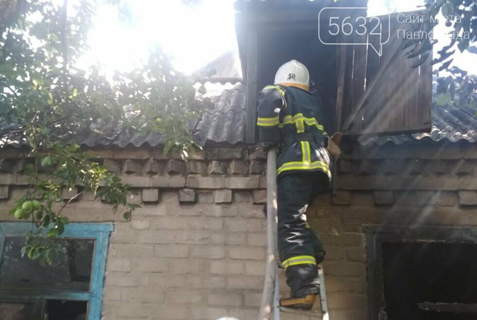 В селе Богдановка горела «заброшка», фото-2