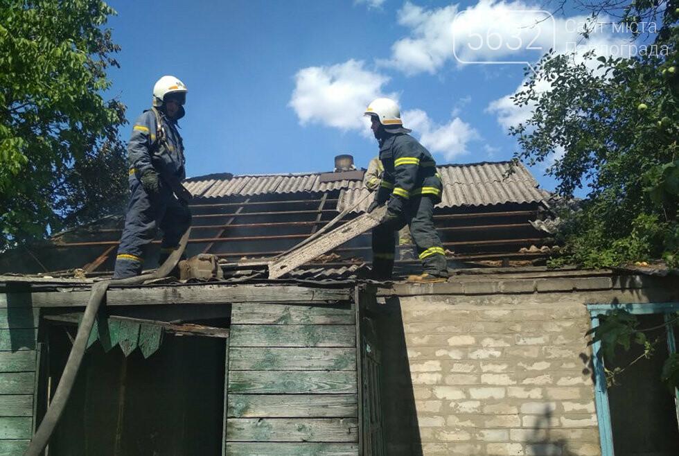 В селе Богдановка горела «заброшка», фото-3
