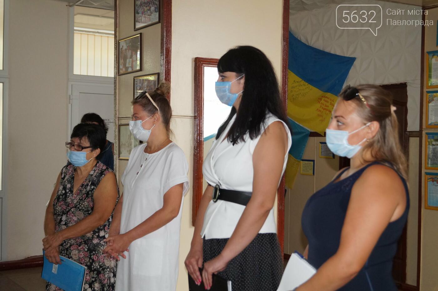 Санитайзеры и медицинские маски: как школы Павлограда готовятся к новому учебному году (ФОТО), фото-17
