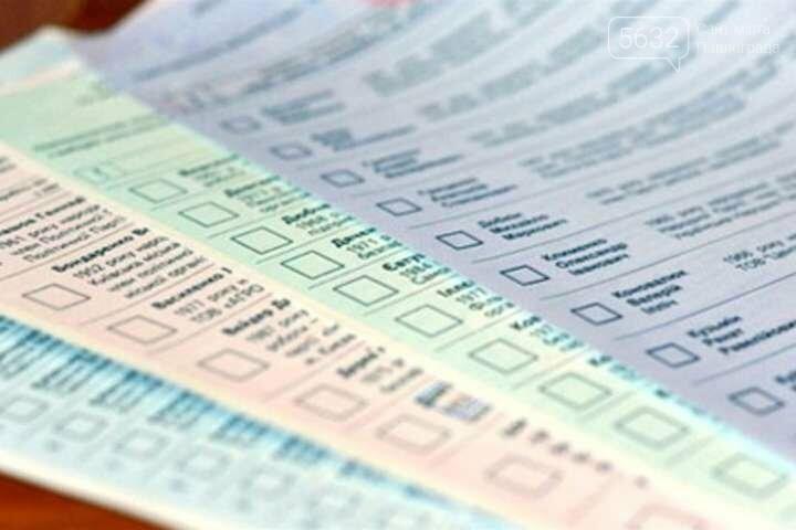 Как будут выглядеть избирательные бюллетени на местных выборах?, фото-1