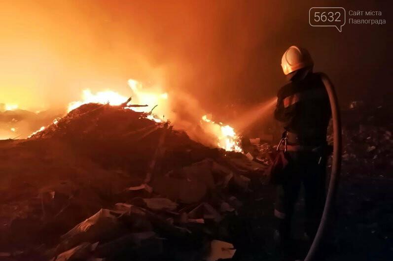 """И снова здравствуйте"": в Павлоградском районе горела свалка, фото-1"