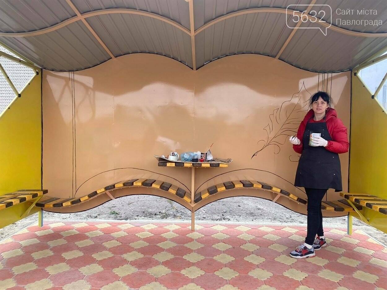 В Петропавловке появилась необычная остановка в виде книги, фото-4