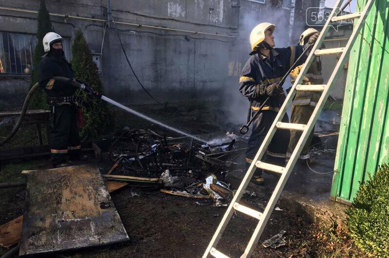 В Богуславе сгорел автомобильный трейлер (ВИДЕО), фото-2