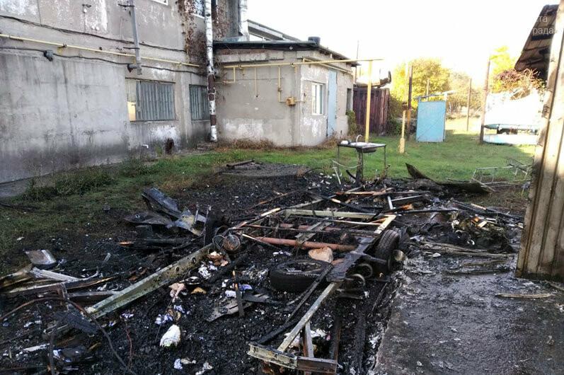 В Богуславе сгорел автомобильный трейлер (ВИДЕО), фото-3